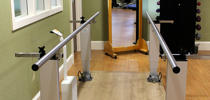 therapy walking bars