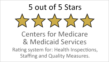 5-star-Medicare and Medicaid rating button