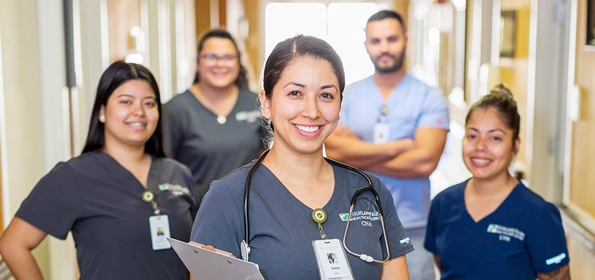Highland Palms nursing staff