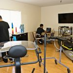 exercise & rehabilitation room