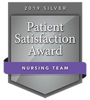 2019 Patient Satisfaction Award for Nursing Team