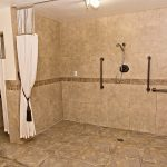 handicapped accessible bathroom at Country Manor