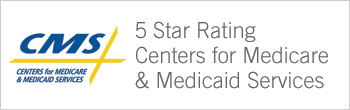 Medicare 5-star rating banner