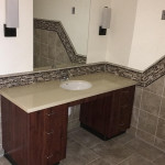 handicapped accessible bathroom sink