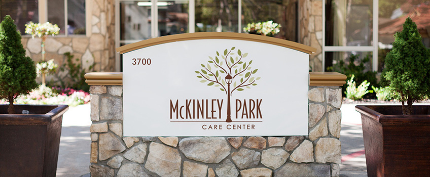 McKinley Park Care Center sign out front