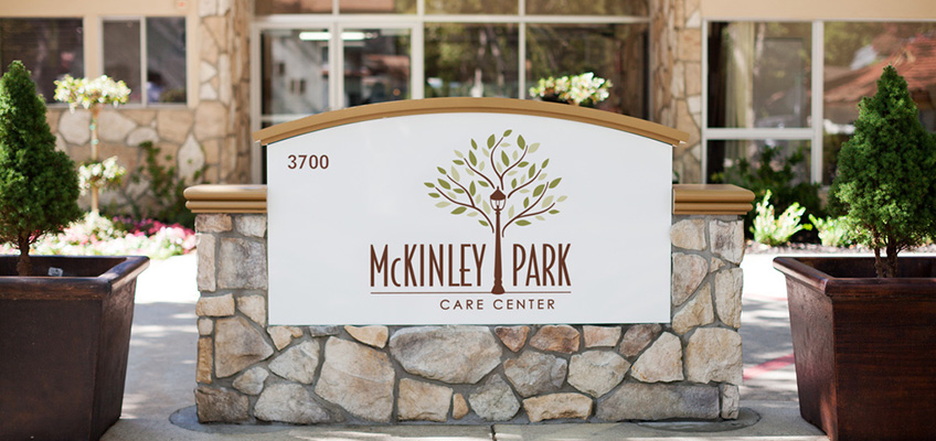 McKinley Park Care Center sign outfront