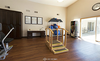 Virtual tour of the rehabilitation room