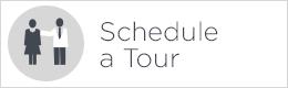 schedule a tour white button