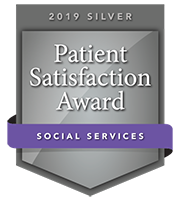 2019 Silver Patient Satisfaction Award for Social Services