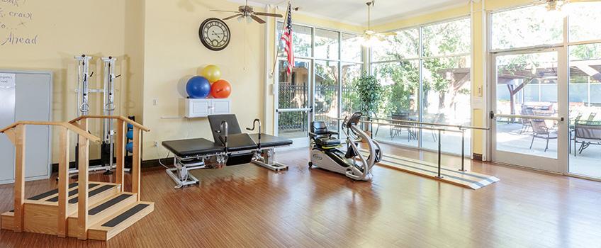 Rehabilitation gym