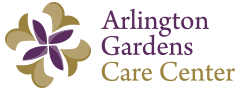 arlington gardens care center logo