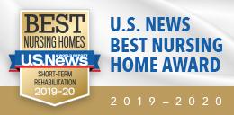 US News Short Term rehab badge 2019-2020