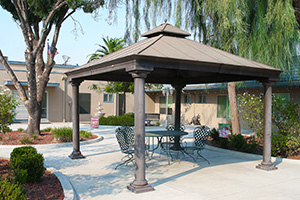 gazebo outside