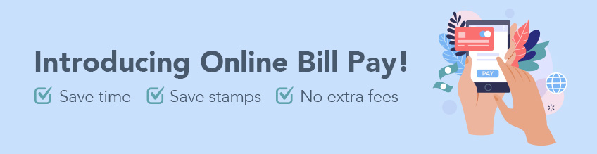 Online Bill Pay Web Banner