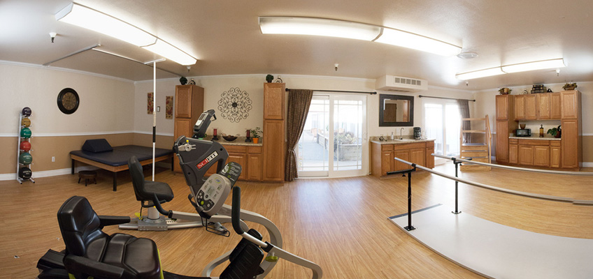 exercise rehabilitation room