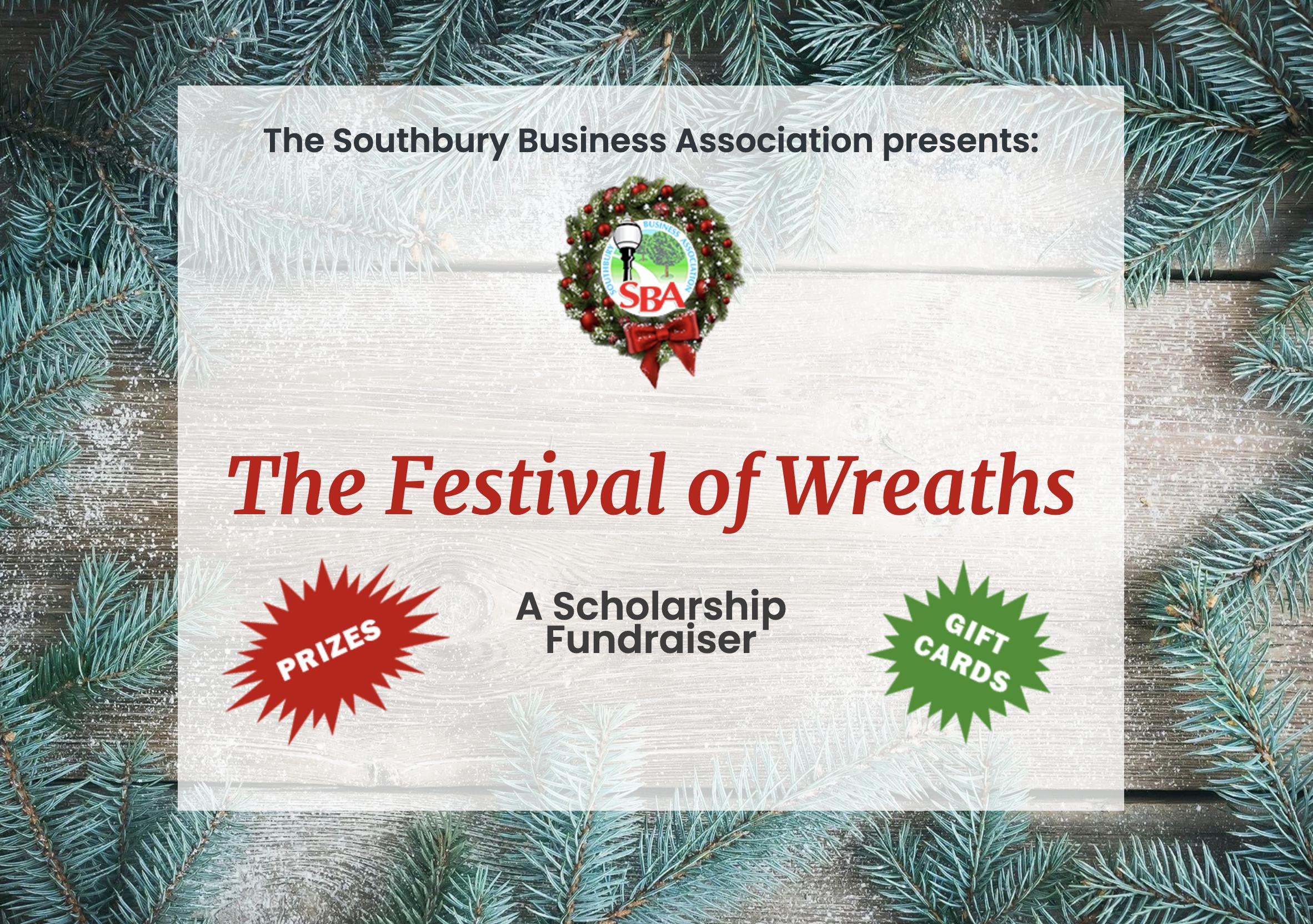 The Festival of Wreaths Fundraiser banner