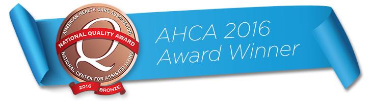 ACHA award banner