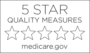 Five star quality measure rating by medicare.gov