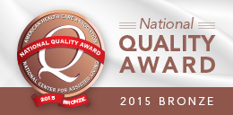Bronze National Quality Award for 2015