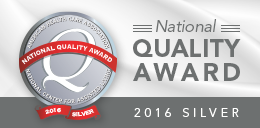 2016 National Quality Award Silver