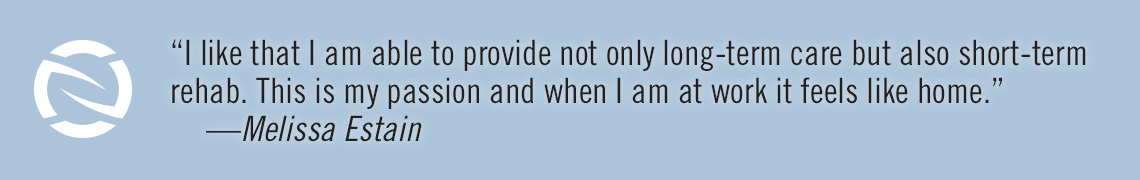 Quote from a staff member about why they like to work for NS Healthcare