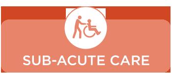 sub-acute care button