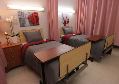 Double occupancy room with beautiful decor