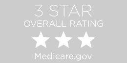 3-star overall medicare rating button