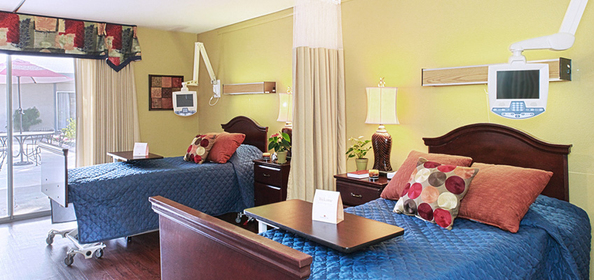 Double occupancy resident room