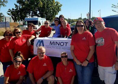 Minot employees