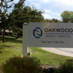 Oakwood front sign