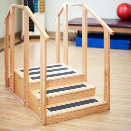 rehabilitation room stairs