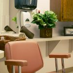 Barber room for residents