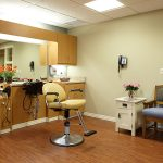 Barber room for residents