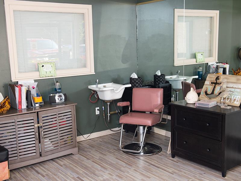 salon inside facility