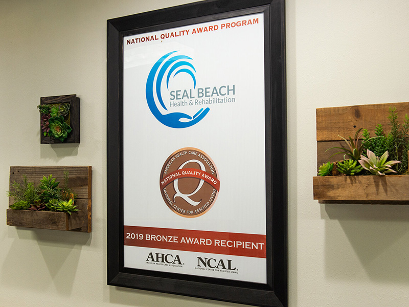 seal beach award