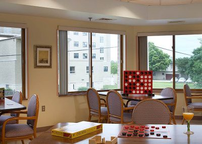 Games in the dining room