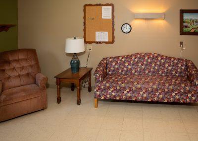Resident sitting area