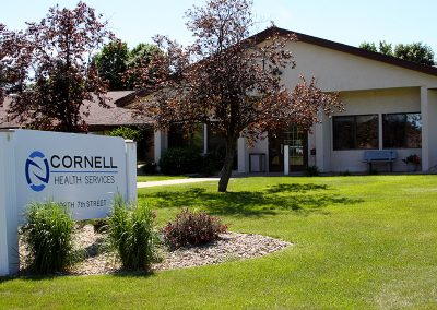 Cornell front sign