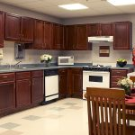 Kitchen for residents