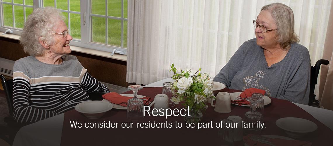Respect slider image