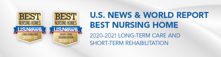 US News 2020-2021 award banner