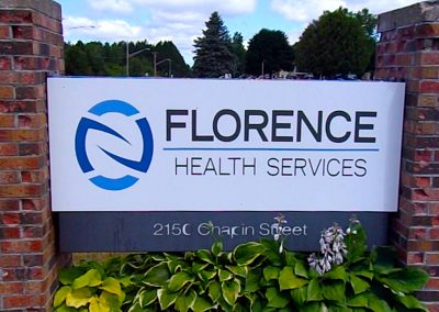 Florence front sign