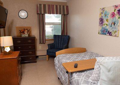 Resident bedroom
