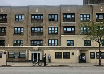 Grasmere Place building with several floors and windows