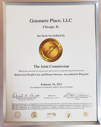 Joint Commission Award for Grasmere Place