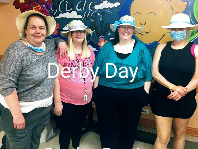 Derby Day for the girls