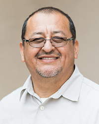 Enrique Gonzales, Director of Physical Facilities