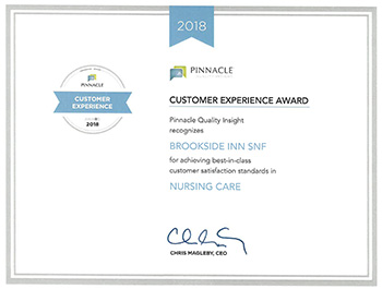 2018 Pinnacle Nursing Care Award
