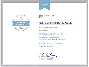 2019 Customer Experience Award for Overall customer experience